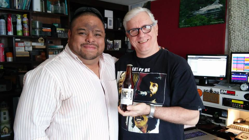 Rodrigo, Gerry and the Beer!