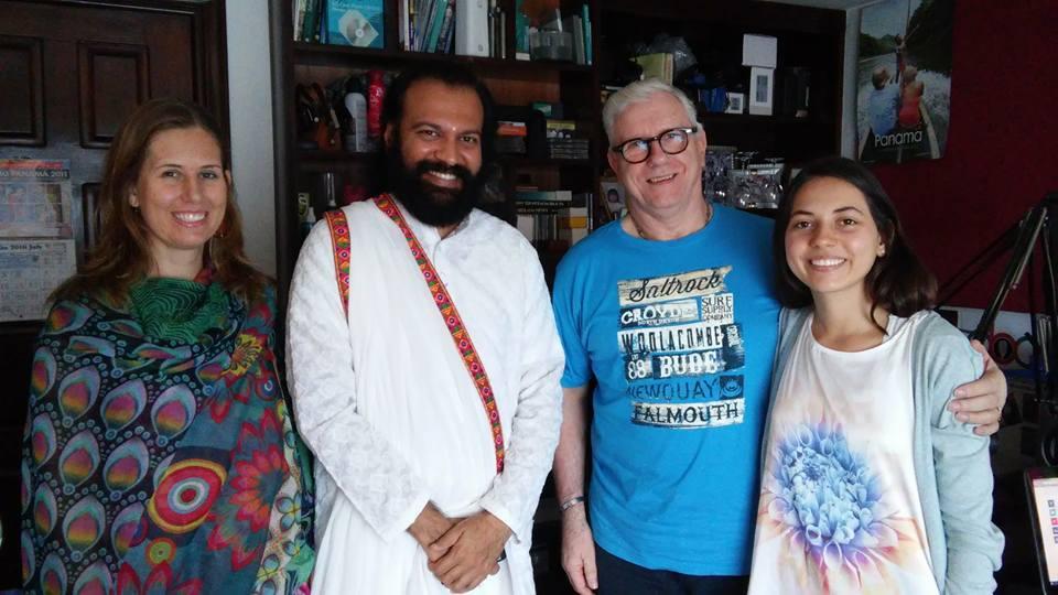 Corina,RIshi Meghal Takkar, Gerry and Natalie.